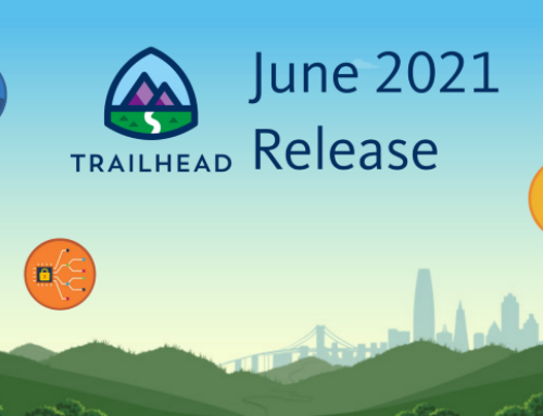 Trailhead Badges Release: June 21'