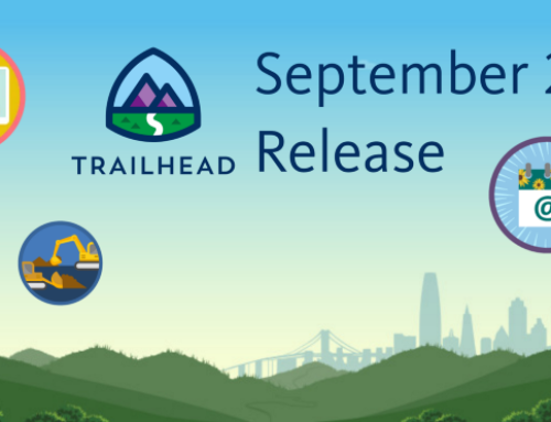 Trailhead Badges Release 9: September 21'