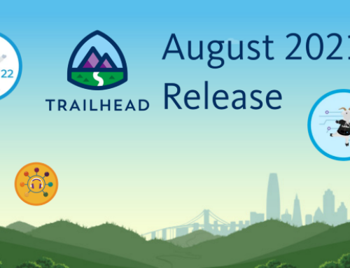 Trailhead Badges Release: August 21'